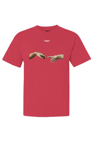 THE CREATION OF ADAM Unisex Tee Paprika - EMPIRE CLOTHING.