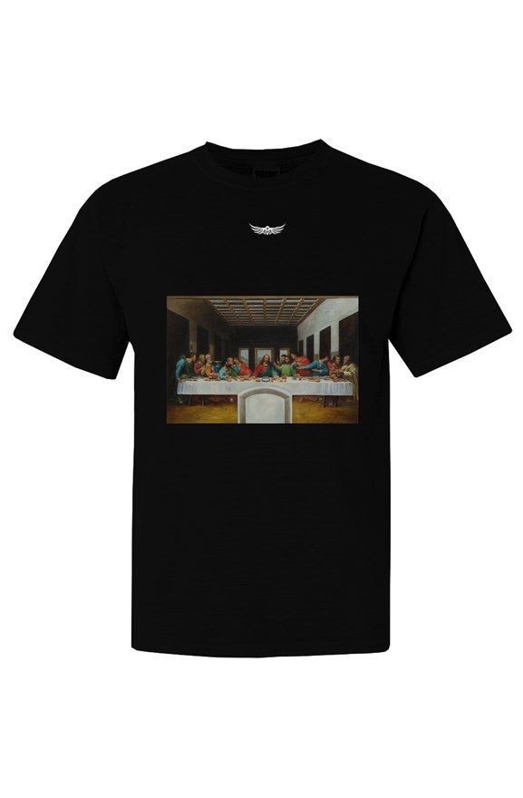 THE LAST SUPPER Unisex Tee Black - EMPIRE CLOTHING