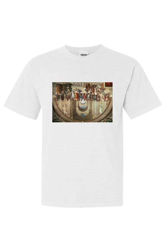 THE SCHOOL OF ATHENS Unisex Tee White - EMPIRE CLOTHING.