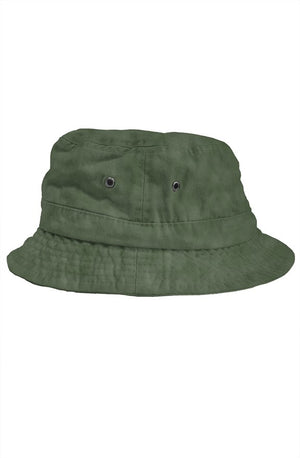 Empire X RadioactiveAcid Bucket Hat Olive - EMPIRE CLOTHING