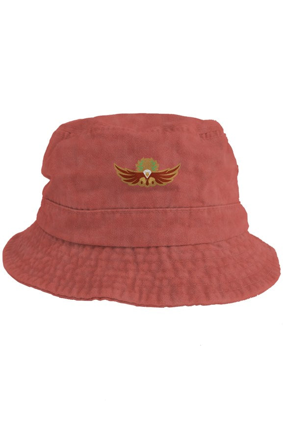 Empire X RadioactiveAcid Bucket Hat Red - EMPIRE CLOTHING