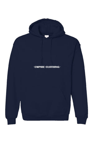 Split Logo Hoodie Navy - EMPIRE CLOTHING