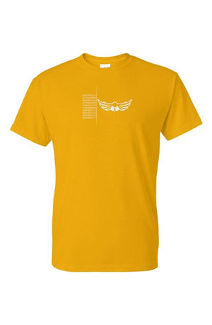 Empire Unfinished Logo Tee Gold - EMPIRE CLOTHING