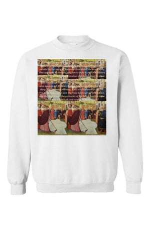 St. Mary Major Unisex Crewneck White - EMPIRE CLOTHING.