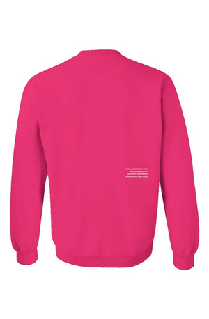 Empire X One Crewneck Pink - EMPIRE CLOTHING.