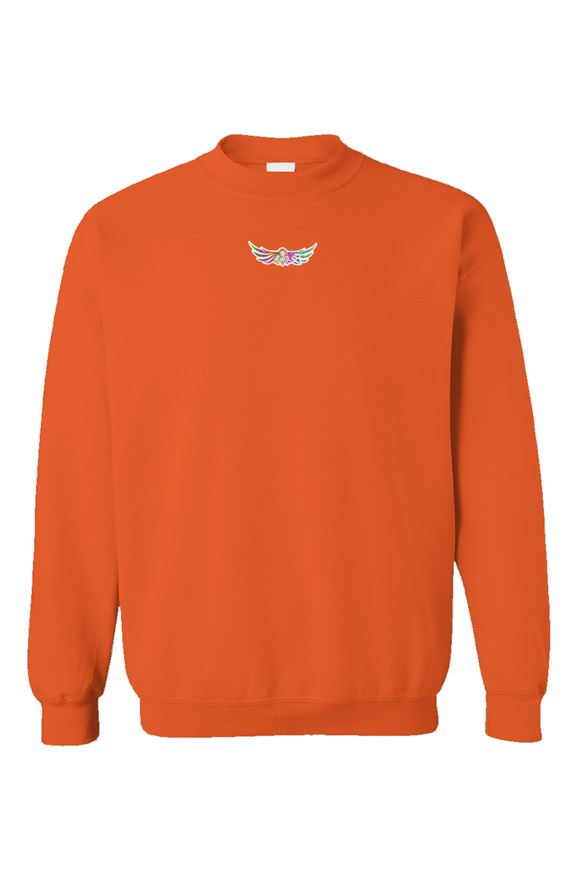 Empire X One Crewneck Orange - EMPIRE CLOTHING