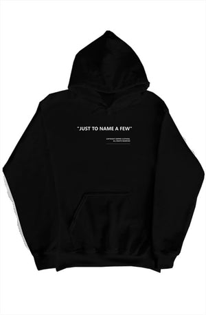 """just to name a few"" hoodie black - EMPIRE CLOTHING"