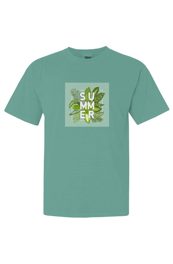 Unisex Green Summer Tee - EMPIRE CLOTHING