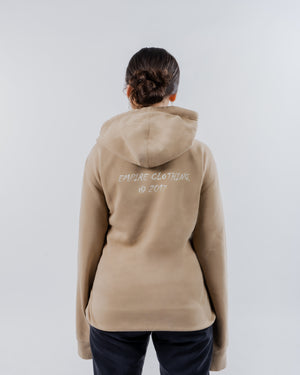 Brown Pigment Dyed Hoodie - EMPIRE CLOTHING.