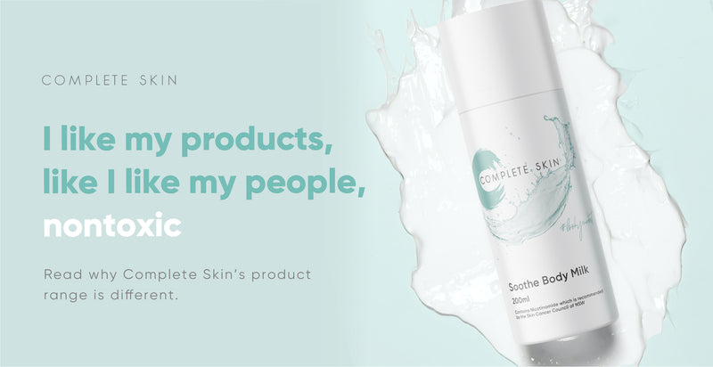 Why Complete Skin's range of skincare products is different