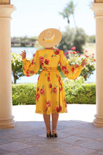 Load image into Gallery viewer, Zelda Dress (Yellow Floral)