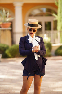 Dapper Dietrich Suit Set (Navy)