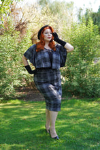 Load image into Gallery viewer, Helena Capelet Set (Black Tartan)