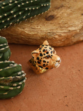 Load image into Gallery viewer, Leopard Head Maxi Ring
