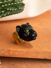 Load image into Gallery viewer, Black Panther Maxi Head Ring