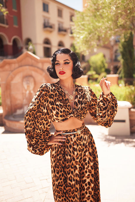 Harlow Set in Leopard