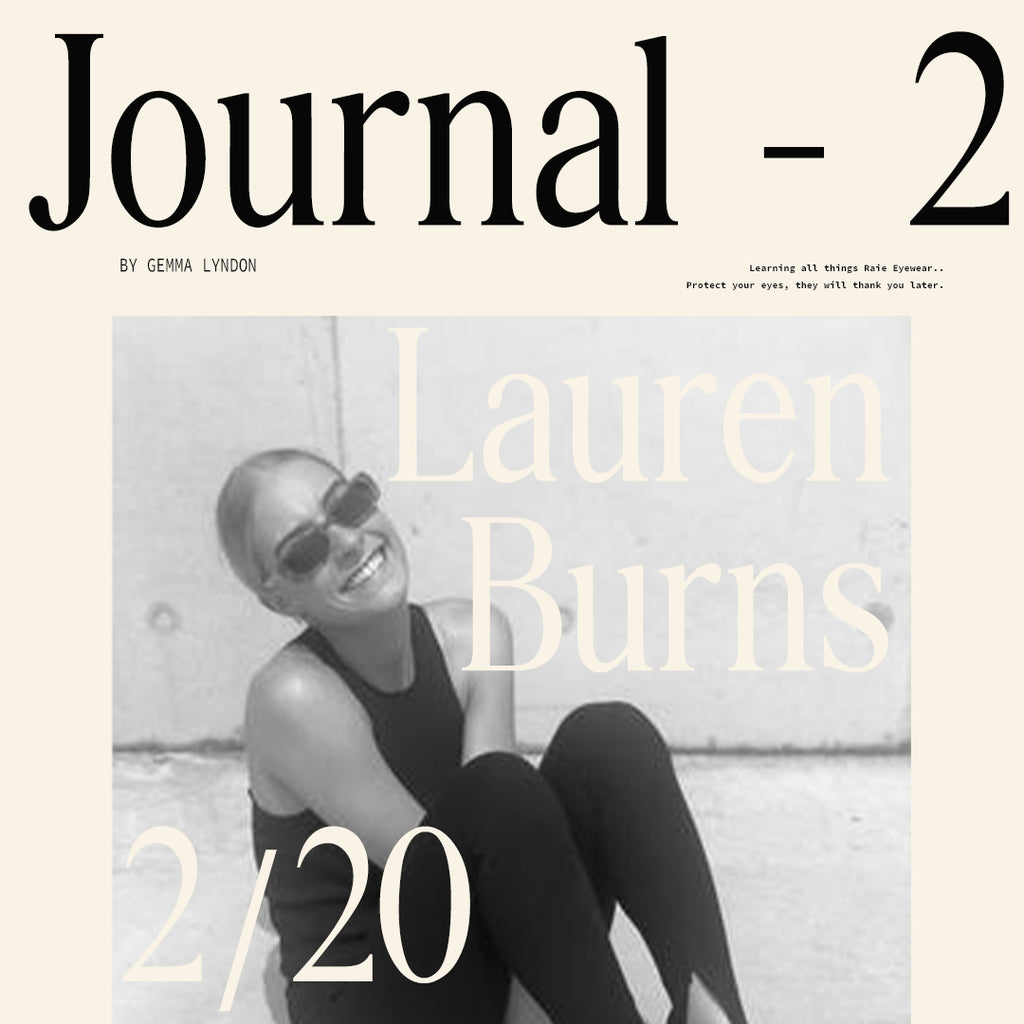 Q & A with Lauren Burns