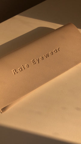 How to care Raie Eyewear