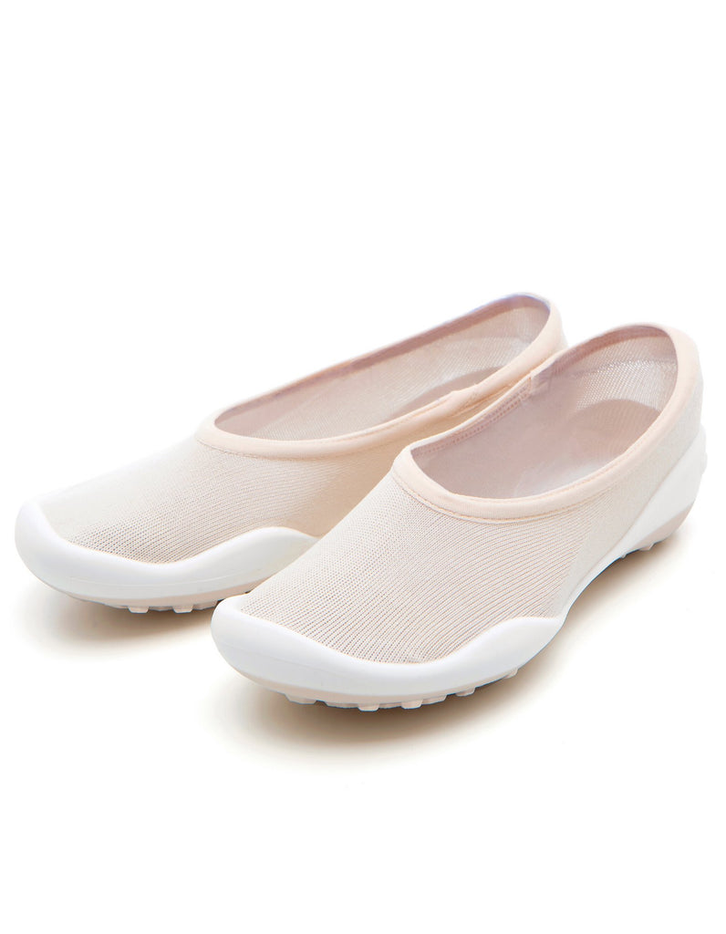 Pocket Shoes Flat Beige - Ggomoosin Australia