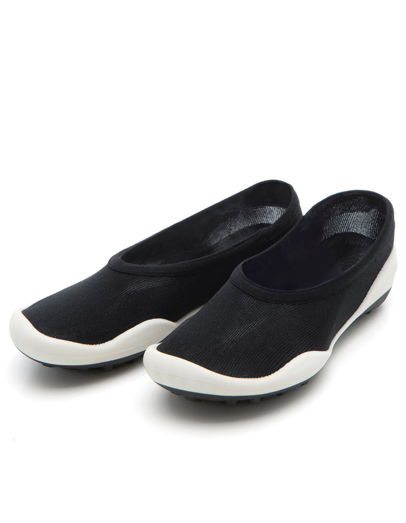 Pocket Shoes Flat Black - Ggomoosin Australia