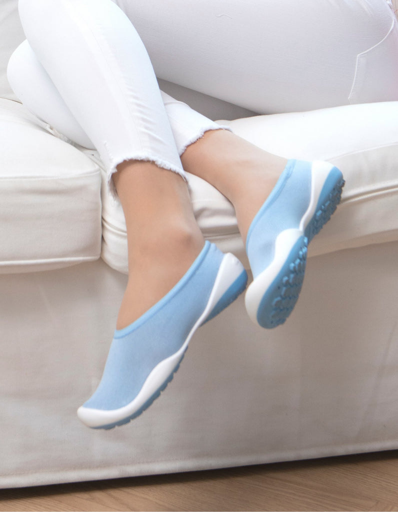 Pocket Shoes Flat Blue - Ggomoosin Australia