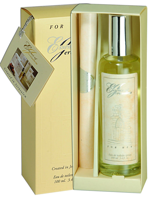 Essence of Jerusalem Parfume for Men - 100ml - The Peace Of God