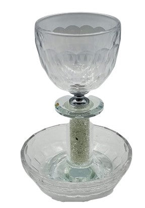 Bubble Crystal Cup White Stones