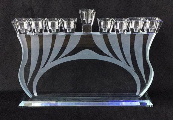 Crystal Bridge Menorah
