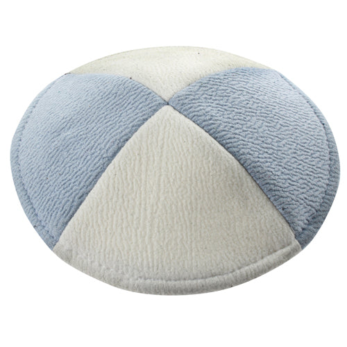 Suede Ultra Flat Kippah 15cm- with Pin Spot