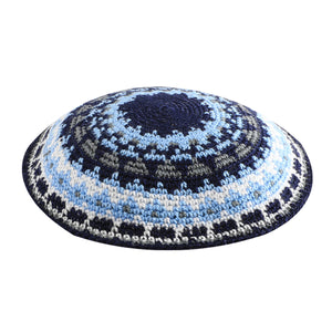 C Knitted Dmc Kippah 15 cm - Colorful II