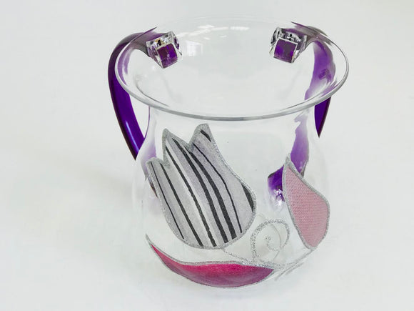 Acrylic Tulips Washing Cup