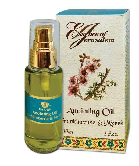 Essence of Jerusalem - Anointing oil 30 ml - Frankincense & Myrrh - The Peace Of God