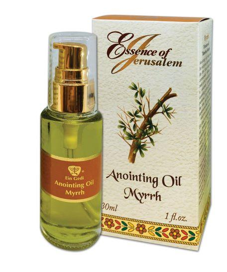 Essence of Jerusalem - Anointing oil 30 ml - Myrrh - The Peace Of God