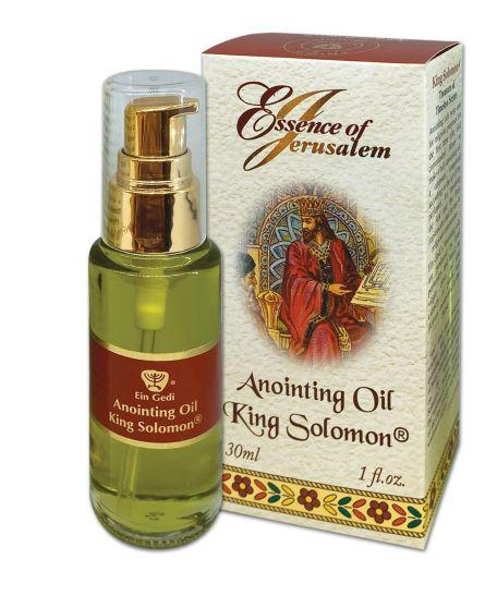 Essence of Jerusalem - Anointing oil 30 ml - King Solomon - The Peace Of God