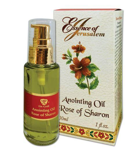 Essence of Jerusalem - Anointing oil 30 ml - Rose of Sharon - The Peace Of God