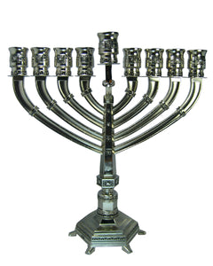 Nickel Menorah Branch Design 25.5cm