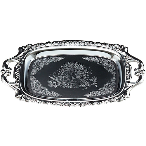 Nickel Tray with Handles 29*17 cm