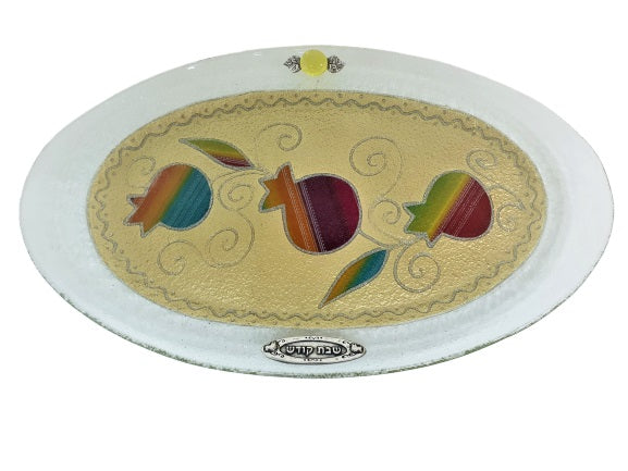 40 cm Oval Challah Tray