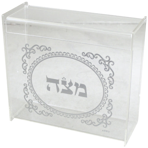 Plexiglass Clear Stand for Matzah 22cm