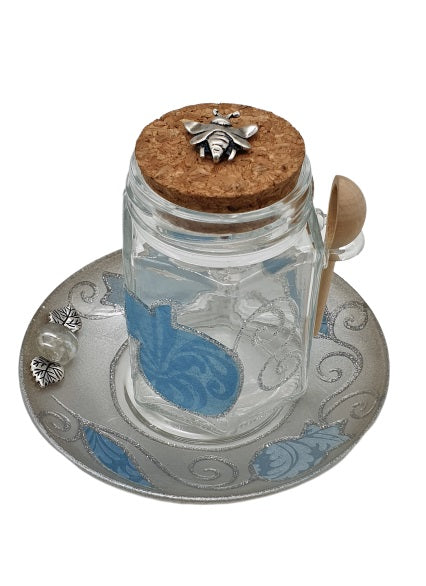 Pomegranate Jar Rosh Hashanah Honey Set