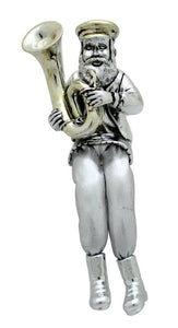 POL FIGURIN WITH CLOTH LEGS 16 CM- TROMBONE PLAYER