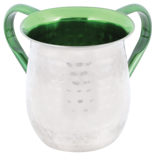 Stainless Steel Washing Cup 13cm- Green