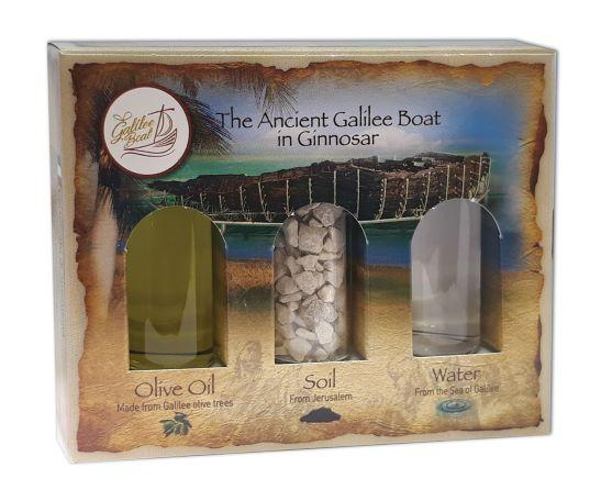 Holy land Gift Pack - Galilee Boat - The Peace Of God