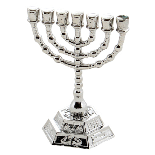 Menorah 4*3.5cm in PVC Box