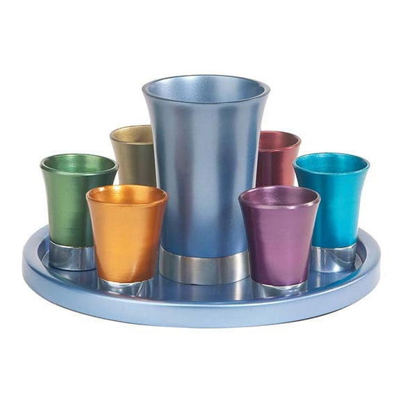 Kiddush Set - Multicolored