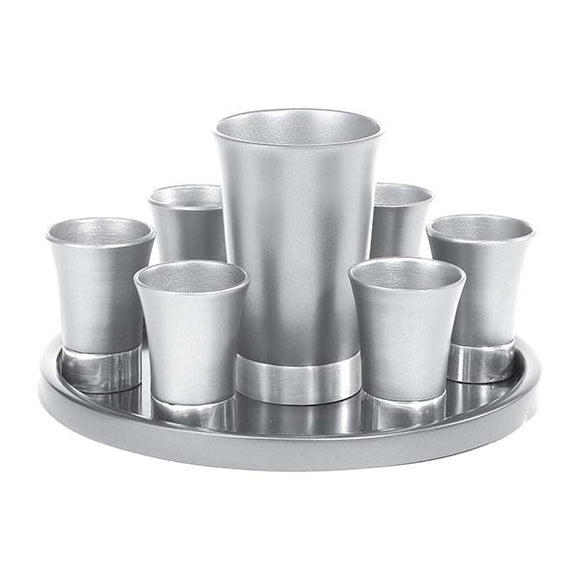 Kiddush Set - Aluminium