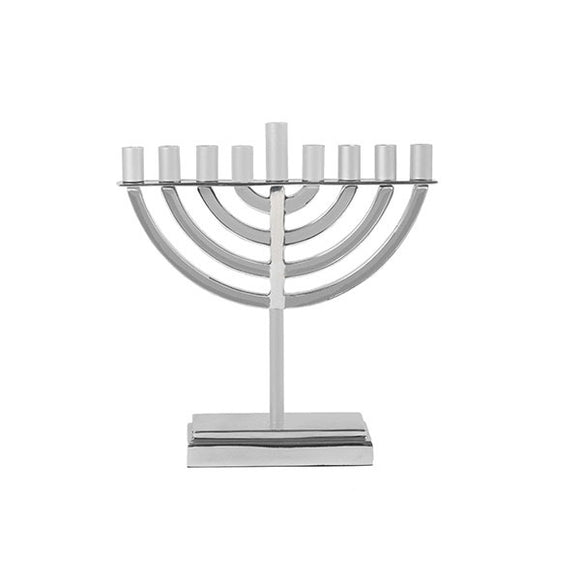 Small Classic Hanukkah Menorah - Natural