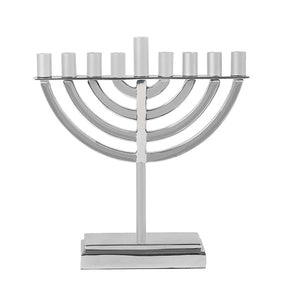 Large Classic Hanukkah Menorah - Natural