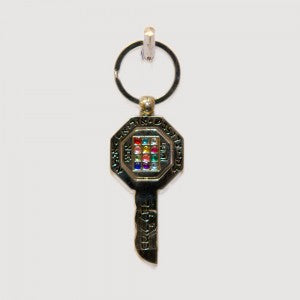 Kabbalah Key of Success High Priest Breastplate Keychain