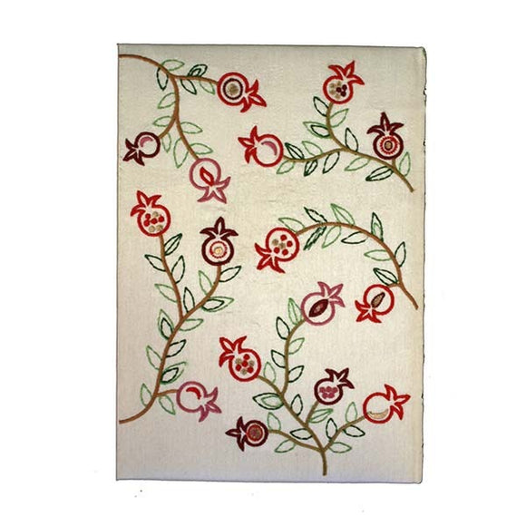 Embroidered Hard Cover Notebook - Large